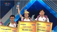 TRỰC TIẾP Chung kết Đường lên đỉnh Olympia 2020: Thu Hằng đoạt vòng nguyệt quế