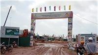 Quảng Ninh: Đổ sập hơn 15.000 m2 nhà xưởng đang thi công