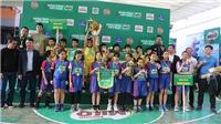 Kết thúc giải bóng rổ học sinh Tiểu học Hà Nội 2020