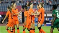 Trực tiếp bóng đá nữ VTV5 VTV6: Nữ Hà Lan vs Nữ Brazil, Olympic 2021 (18h00, 24/7)