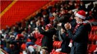 Bóng đá Anh lần đầu tiên đón CĐV trở lại sân vận động