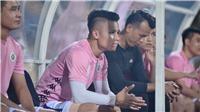 HLV Hà Nội tiết lộ chấn thương của Quang Hải và Omar