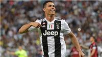 Video clip Juventus 1-0 AC Milan: Ronaldo tỏa sáng, Juve giành Siêu cúp Ý