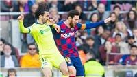 Video clip bàn thắng trận Barcelona vs Getafe