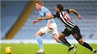 Video clip bàn thắng trận Newcastle vs Man City