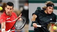 Lịch thi đấu tennis hôm nay. Trực tiếp Djokovic vs Tsitsipas, Opelka vs Nadal. TTTV, TTTV HD