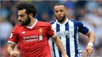 Video clip bàn thắng trận West Brom vs Liverpool