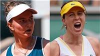 Kết quả tennis Roland Garros hôm nay. Hạ Pavlyuchenkova, Krejcikova lên ngôi vô địch