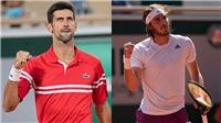 Lịch thi đấu, trực tiếp Roland Garros hôm nay: Djokovic và Tsitsipas tranh chức vô địch