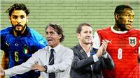 Lịch xem trực tiếp bóng đá EURO 2021 hôm nay trên kênh VTV3, VTV6 (25/6/2021)