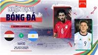 Video U23 Ai Cập vs Argentina, Olympic 2021: Clip bàn thắng highlights