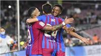 Barcelona 3-1 Valencia: Song sát Fati - Depay tỏa sáng, Barca ngược dòng ấn tượng