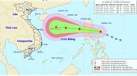 Tin bão khẩn cấp cơn bão số 8 trên Biển Đông