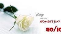 Lời chúc 20/10 ý nghĩa nhất ngày Phụ nữ Việt Nam