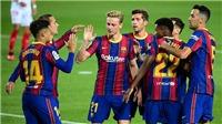Video clip bàn thắng trận Osasuna vs Barcelona