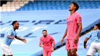 Man City 2-1 Real Madrid (chung cuộc 4-2): Real trả giá vì 2 sai lầm của Varane