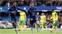 Chelsea 7-0 Norwich: Mount lập hat-trick giúp Chelsea tiếp tục dẫn đầu bảng