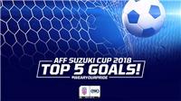 VIDEO: 5 bàn thắng đẹp nhất AFF Cup 2018 tính đến thời điểm này