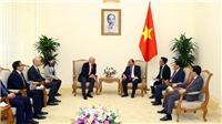 Thủ tướng Nguyễn Xuân Phúc tiếp Chủ tịch FIFA  Gianni Infantino