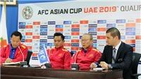 HLV Park Hang Seo: 'Tuyển Việt Nam sẵn sàng đối diện Jordan, mục tiêu là có điểm'