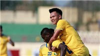 Video clip highlights bàn thắng SLNA 2-1 Tampines Rovers