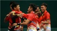 Thắng tuyệt đối Qatar, quần vợt Việt Nam lên nhóm 2 Davis Cup