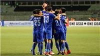 Video clip highlights bàn thắng trận Global Cebu 3-3 FLC Thanh Hóa