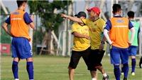 Giải bóng đá quốc tế U23 trực tiếp trên VTV5, VTV6