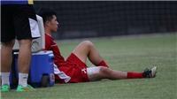 Đình Trọng chấn thương, U23 Việt Nam thiệt quân trận gặp Bahrain