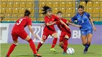 Lịch thi đấu của tuyển nữ Việt Nam tại ASIAD 2018