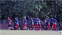 U23 Việt Nam tập dưới nắng 40 độ, quyết hạ U23 Nepal