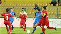 Thua Nhật 0-7, tuyển nữ Việt Nam xếp thứ hai bảng C