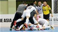 Lịch thi đấu và trực tiếp chung kết futsal châu Á Thái Sơn Nam vs Mes Sungun