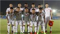 Lịch trực tiếp VCK U19 châu Á 2018