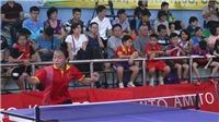 Giải bóng bàn học sinh thành phố Hà Nội mở rộng - Cúp Báo Thể thao & Văn hóa 2018: Ươm mầm tài năng