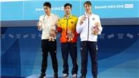 Olympic trẻ 2018: Huy Hoàng xuất thần giành HCV 800m tự do