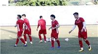 Trung vệ Đình Trọng: 'Trận đấu với tuyển Lào sẽ rất khó khăn'