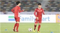 Danh sách U23 Việt Nam: Quang Hải nổi nhất, Đình Trọng tái xuất