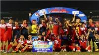 Than Quảng Ninh vô địch Thiên Long Cup 2019