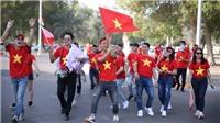 Cháy bỏng con tim yêu bóng đá Việt Nam tại UAE