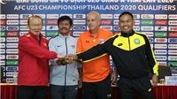 HLV Park Hang Seo: 'Tôi không thể hiểu hết cầu thủ U23 Việt Nam'
