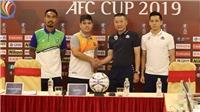 Xem trực tiếp bóng đá Hà Nội vs Yangon United (19h00 ngày 2/4). Trực tiếp bóng đá AFC Cup