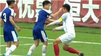 Cầu thủ U17 Hà Nội đấm thẳng mặt đối phương nhận án kỷ luật vô tiền khoáng hậu