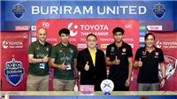 CẬP NHẬT Buriram vs Muangthong: Xuân Trường tiếp tục dự bị, Văn Lâm bắt chính