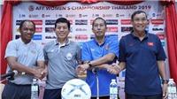 TRỰC TIẾP BÓNG ĐÁ NỮ: Việt Nam vs Campuchia (18h ngày 16/8)