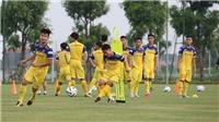 Đấu tập Kitchee, HLV Park Hang Seo chỉ gọi 19 cầu thủ U22 Việt Nam