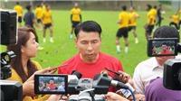 Malaysia phấp phỏng làm khách trước tuyển Việt Nam
