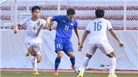 HLV Nishino đau đầu vì U22 Thái Lan vất vả thắng Lào