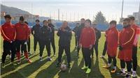 U23 Việt Nam chuẩn bị cho bài test cuối tại Hàn Quốc