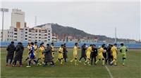 Thắng Busan Transportation 3-2, U23 Việt Nam kết thúc chuyến tập huấn tại Hàn Quốc